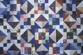 Close-up of sea island quilt pattern, Beaufort, SC Royalty Free Stock Photo