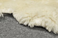Close up sheep fur wool texture Stock Photo
