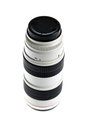 Close up shot of a tele lenses Royalty Free Stock Photo