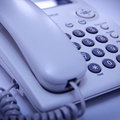 Close up shot of telephone Royalty Free Stock Images