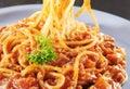 Close up spaghetti