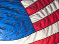 Close up of the stars and stripes Royalty Free Stock Photography
