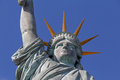 Close up of Statue of Liberty in Paris Royalty Free Stock Photo