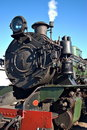 Close up of steam train Royalty Free Stock Images