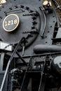 Close up stream powered locomotive virginia museum of transportation Stock Images