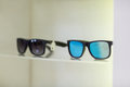 Close-up of sunglasses on display Royalty Free Stock Photo