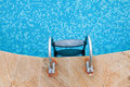 Close up of a swimming pool Royalty Free Stock Photo