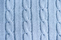 Close up textue of knit texture cable yarn Stock Images