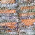 Close up of timber textures on cut wood