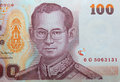 Close up of thai money Stock Photography