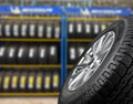 Close up tires Royalty Free Stock Photo