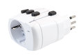 Close-up of an universal travel adapter Royalty Free Stock Photo