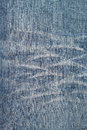 Close up of a used jeans Royalty Free Stock Photo