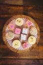 Close-up Of Various Cookies