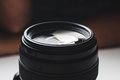 Close-up view of a camera lens Royalty Free Stock Photo