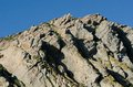 Close up view morro rock morro bay ca along central coast Royalty Free Stock Image