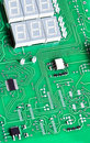 Close up view to Electronic circuit Royalty Free Stock Image