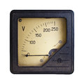 Voltmeter Royalty Free Stock Photo