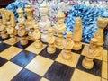 Nautical chess board Royalty Free Stock Photo