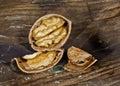 Close up of walnut Royalty Free Stock Photo