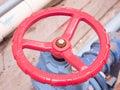 Close up water valve Royalty Free Stock Photo