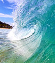 Close up wave of a in hawaii Stock Photo