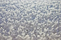 Close up of white carpet it is Stock Photo