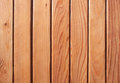Close up of wood planks with knots striped pattern Royalty Free Stock Photography