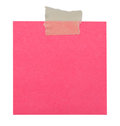 Close up of a yellow note paper Royalty Free Stock Photo