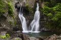 Close View of Bash Bish Falls Royalty Free Stock Photo