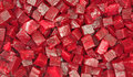Close view diced beets Royalty Free Stock Photos