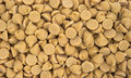 Close view peanut butter chips