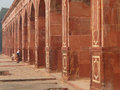 Close view of the wall of humayun s tomb delhi india it was first garden on indian subcontinent Royalty Free Stock Photo