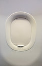 Closed Airplane Window Royalty Free Stock Photo