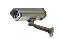 Closed circuit television cctv on the white background Royalty Free Stock Photo
