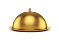 Closed godlen cloche Royalty Free Stock Photos