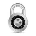 Closed padlock this is file of eps format Stock Photo