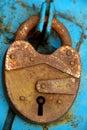 Closed padlock Royalty Free Stock Photo