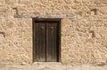 Closed wooden door Royalty Free Stock Photo