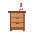 Closet with toy icon