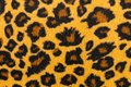 Closeup artificial tiger skin pattern Royalty Free Stock Photo