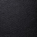 Closeup black leather texture background Stock Images