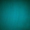 Closeup Of Blue Fabric Textile...