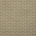 Closeup of brownish green brick wall as background or texture architecture pattern square format Royalty Free Stock Photo