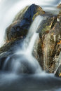 Closeup of Campbell Falls with blurred motion of the waterfall, Royalty Free Stock Photo