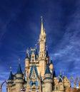 Closeup of Cinderella Castle at Walt Disney World