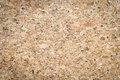 Closeup of Cork board wood surface texture Royalty Free Stock Photo