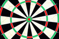 Closeup of dartboard Royalty Free Stock Photo