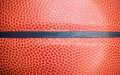 Closeup detail of basketball ball texture background Royalty Free Stock Photo