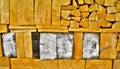 Closeup detail of wood macro texture background Stock Photography